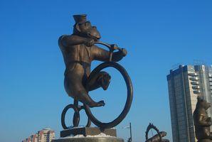 Quando estava Bicicletas Primeiro Usado em Atos de circo?