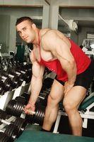 Como construir músculo para Wrestling