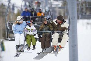 Como doar roupas de esqui em Michigan