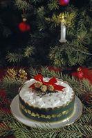 Tipos de bolo para o jantar do Natal