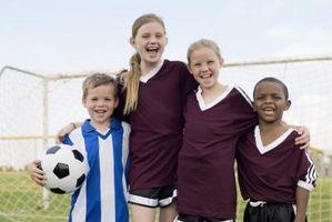 Goodie Bag Idéias para uma equipe de futebol para crianças