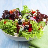 Como fazer Saladas Ahead para uma multidão