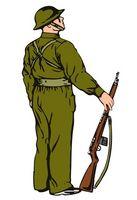 Como disparar um rifle com um Sling