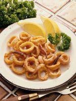 Como Reaquecimento Fried Calamari