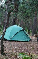 Como acampamento em Angels Camp na Califórnia