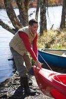 Do-It-Yourself PVC Canoe & Kayak carrinho