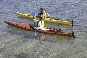 Qual é a diferença entre um Plano Água & Kayak um caiaque oceânico?