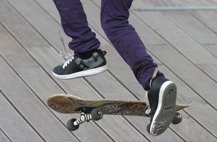 Como Lace linhas retas para Skate Shoes
