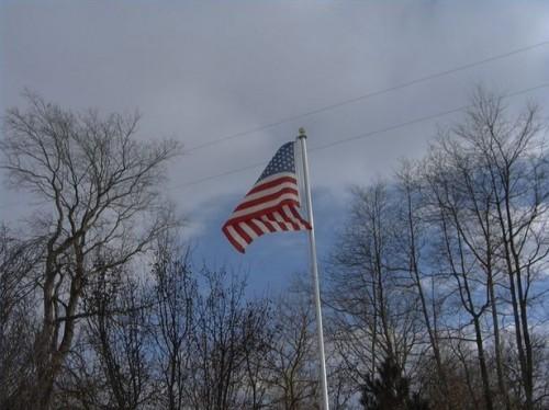 Como colocar em um Flagpole