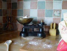Como fazer auto-aumento da farinha com bicarbonato de sódio