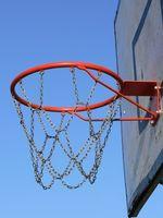 Como configurar uma meta de basquete