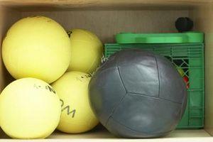 Como Prepare-se para os testes de voleibol