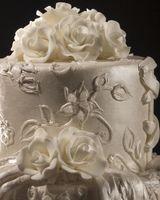 Como fazer rosas de fita Usando Rolled fondant