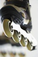 Como suavizar Roller Skate Rodas