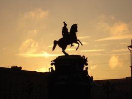 Antigos russos Régua Monumentos