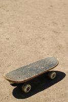 Como areia um skate