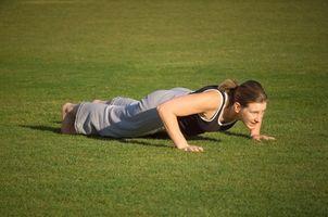 Exercícios de peso corporal superior