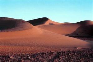 Quais são algumas localizações geográficas dos Desertos?