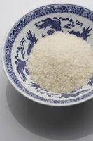 Como misturar arroz com queijo
