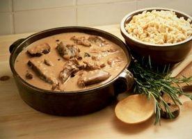 Idéias refeição com carne Stew