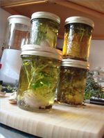 Como preservar óleos com sabor