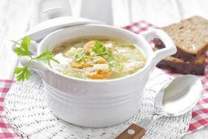 Os Melhores Especiarias e Ervas para a sopa de legumes