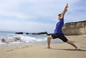Alongamentos de Yoga para o músculo psoas