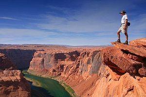 Como Caminhada do Grand Canyon