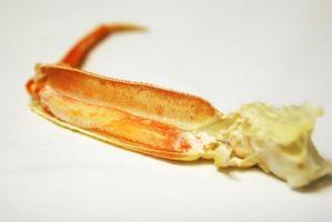 Como aquecer Pés de caranguejo