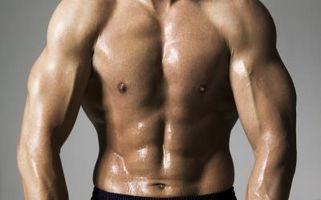 Um Declínio de Imprensa para os músculos Esterno