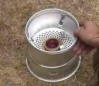 Como usar um fogão Trangia Camping