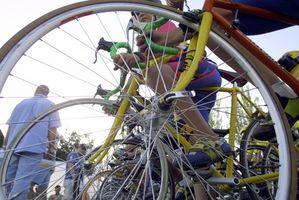 Como substituir o desviador traseiro em uma bicicleta do vintage