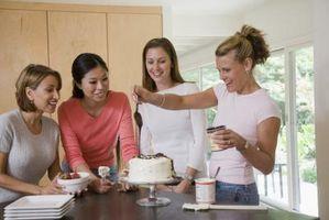 Como substituto de baixo teor de gordura Ingredientes para o cozimento do bolo