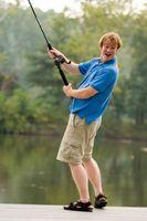 Como anexar um Salmon Roe para um gancho de peixes