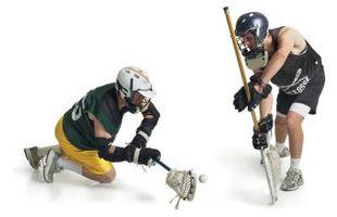 Como colocar uma viseira de um capacete do Lacrosse