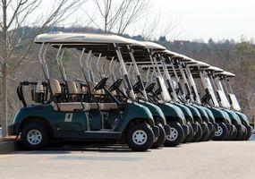 Problemas comuns com carros de golfe