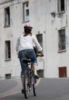 Como medir para o tamanho de bicicleta Direito