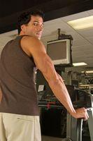 Máquinas do exercício, que causam danos
