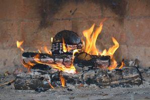 Como fazer fogo lareira Starters