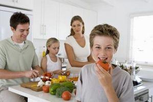 Como fazer refeições saudáveis que um adolescente de 13 anos gostariam