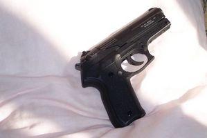 Como encontrar um número de série da arma de fogo