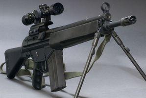 Como remover um AR15 traseira vista