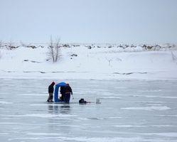 Como usar madeira poloneses Ice Fishing