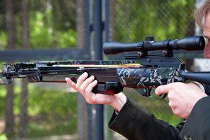 Como definir Sights Up Laser em uma Crossbow