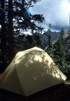 Campgrounds tenda no sul da Califórnia