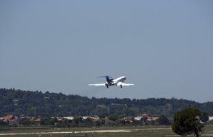 O que Airlines Fly Fora de Rockford, Illinois?