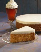 Pode um queijo creme bolo decorado ficar de fora durante a noite?