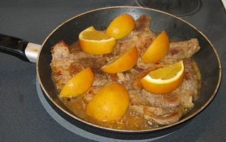 Como fazer laranja costeletas de porco