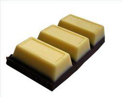 Como fazer Chocolate Branco para Mergulhando