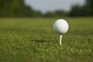 Como desenhar uma bola de golfe com um driver
